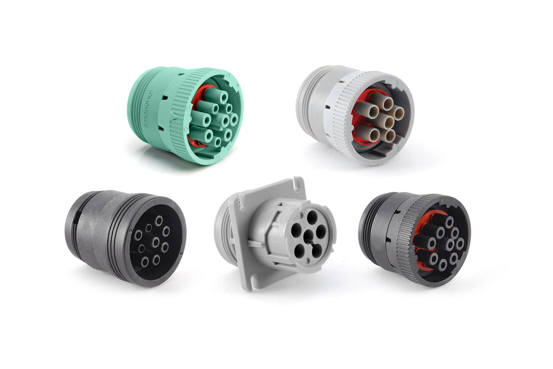 Plastic Connectors AHD Amphenol Sine Systems